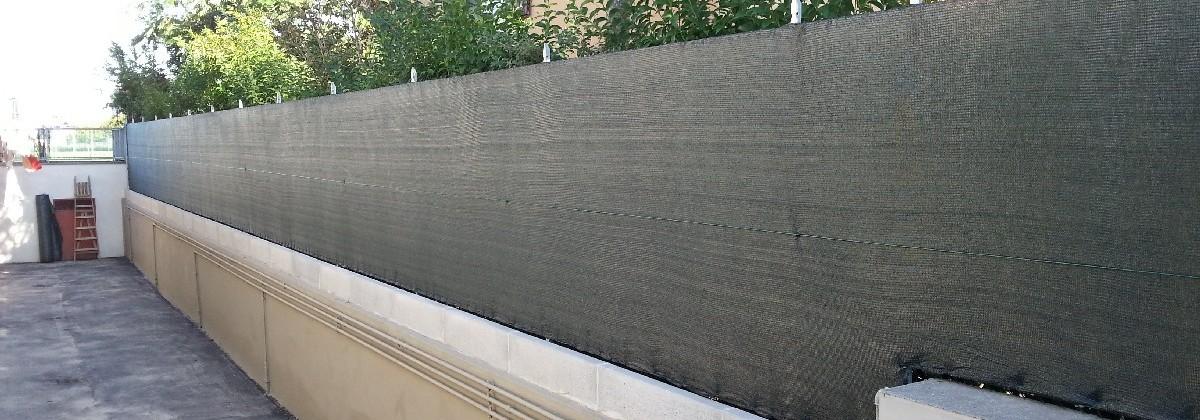 Rete nylon ombreggiante caporali paolo for Oscuranti per recinzioni
